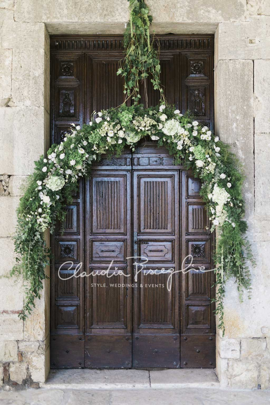 C-Church-decoration-wreath-green-flower-